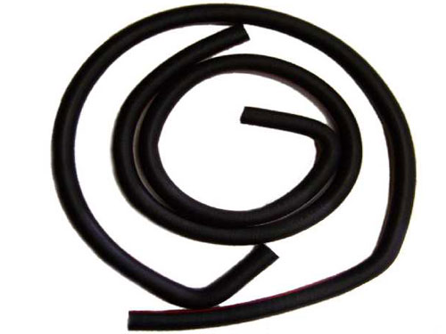 68 AUTOLITE STAMPED HEATER HOSE WITH AIR CONDITIONING 90 DEGREE BEND-BUILT AFTER 2/1/68