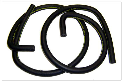 71 AUTOLITE STAMPED HEATER HOSE WITH AIR CONDITIONING 90 DEGREE BEND