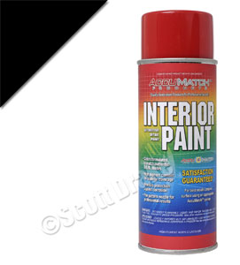 CHARCOAL BLACK INTERIOR PAINT   4464