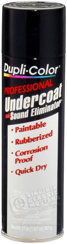 PROFESSIONAL UNDERCOAT WITH SOUND ELIMINATOR