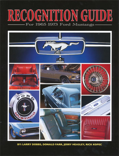 1964 1/2-73 MUSTANG RECOGNITION GUIDE