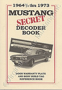 DATA PLATE DECODER BOOK