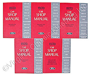 70 SHOP MANUAL SET-5 VOLUME SET