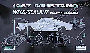 WELD AND SEALANT ASSEMBLY MANUAL *INDICATE YEAR*