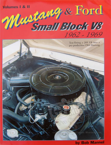 MUSTANG AND FORD SMALL BLOCK V8 BOOK 1962-1969  VOLUMES 1 AND 2