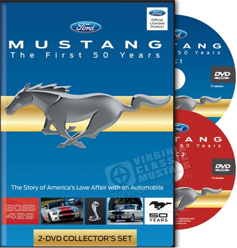 Mustang - The First 50 Years - 2 DVD Set