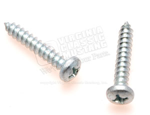 65-66 ARM REST BASE SCREWS-SET OF 2