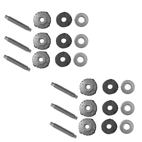 65-73 QUARTER EXTENSION NUTS WITH STUDS- 1 SIDE