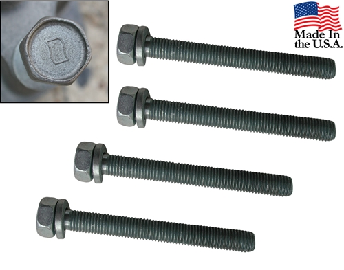 65-66 289 HIPO FAN TO WATER PUMP BOLTS- SET OF 4