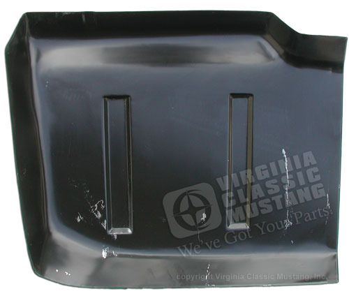 65-68 RH FRONT FLOOR TO FIREWALL PAN