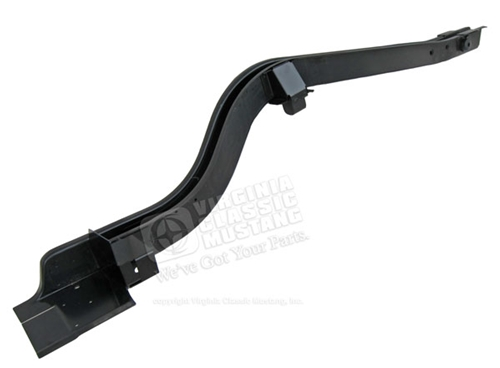 65-68 Mustang Convertible Complete Rear Frame Rail - LH Side