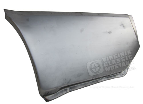 69-70 LH COUPE/CONVERTIBLE LOWER REAR QUARTER PATCH