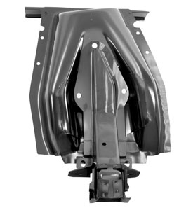 67-68 LH INNER SHOCK TOWER WITH FRAME BRACE
