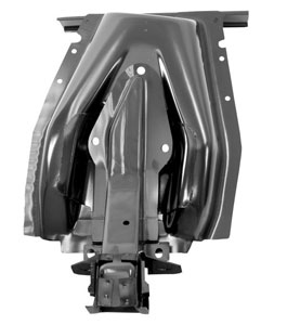 67-68 RH INNER SHOCK TOWER WITH FRAME BRACE