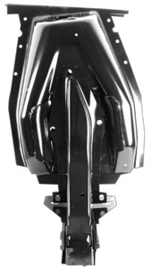 69-70 LH INNER SHOCK TOWER WITH FRAME BRACE