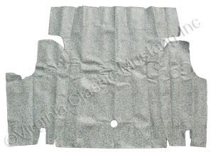 67-68 COUPE/CONVERTIBLE SPECKLED TRUNK MAT