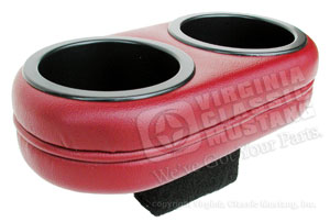 68-69 DUAL DRINK HOLDER FOR CONSOLE *INDICATE COLOR*