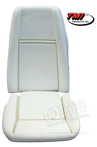 69-70 HIGH BACK SEAT FOAM (ONE SEAT)
