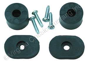 68-73 SEAT BACK STOP KIT WITH SCREWS-DOES ONE FRONT SEAT