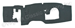67-68 FIREWALL MAT WITH CLIPS