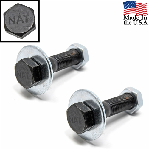 65-66 GT350 Shelby Rear Traction Bar Bolt, Washer and Nut (set of 2)