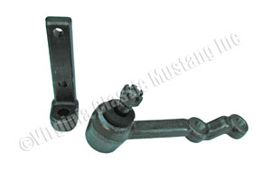 65-66 6 CYLINDER MANUAL STEERING IDLER ARM