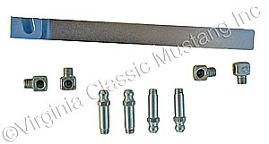 65-73 UPPER CONTROL ARM GREASE FITTING KIT