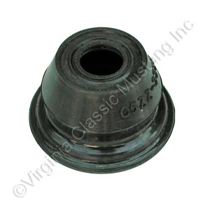 65-66 RUBBER TIE ROD END DUST BOOT WITHOUT METAL - V8 MODEL