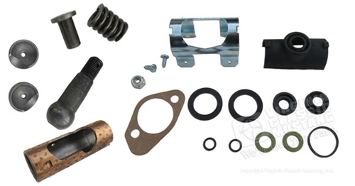COMPLETE POWER STEERING CONTROL VALVE REPAIR KIT