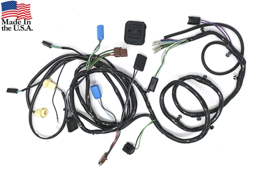 70 WITH SPORT LAMPS - HEADLAMP WIRING HARNESS (AFTER 10-15-69)