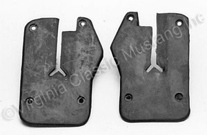 65-66 DOOR TO WINDOW SEALS-PAIR