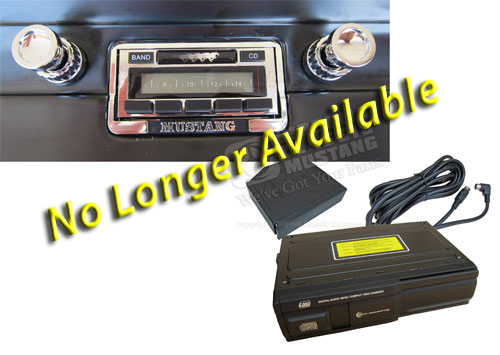 65-66 AM/FM RADIO WITH 6 DISC CD CHANGER UPDATED 630 MODEL