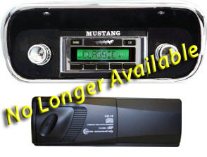 67-73 AM/FM RADIO WITH 6 DISC CD CHANGER UPDATED 630 MODEL