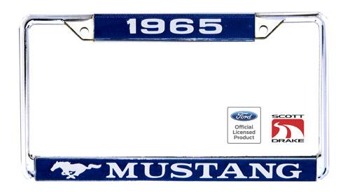 1965 mustang license plate frame - Mustang License Plate Frame
