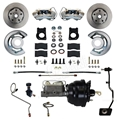 70 Mustang Front Power Disc Brake Conversion Kit - use on manual transmission equipped car