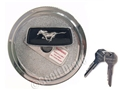 65-73 LOCKING CHROME GAS CAP