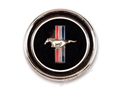 67-68 ROUND RH DELUXE INSTRUMENT PANEL EMBLEM -COMPLETE