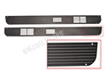 67-68 DELUXE INTERIOR DOOR PANEL SPEAKER GRILLS PAIR