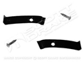 65-68 COUPE/FASTBACK HEADLINER PILLAR TRIM SET