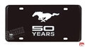 MUSTANG 50TH ANNIVERSARY LICENSE PLATE