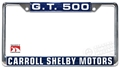 Carroll Shelby Motors GT500 License Plate Frame