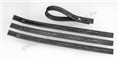 67-70 AC HOSES TO COWL BRACES STRAPS-SET 4