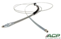69 RH Rear Parking Brake Cable - Exact Reproduction