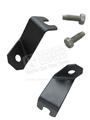65 REAR PARKING BRAKE TO FRAME BRACKETS WITH SCREWS - PAIR