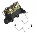 65-66 Mustang Dual Reservoir Master Cylinder Conversion Kit - For Front Disc Brake or 4 Wheel Disc Brake equipped cars