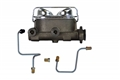 65-66 Mustang Dual Reservoir Master Cylinder Conversion Kit - for drum brake equipped cars