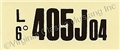 68 GT-500 AT ENGINE CODE DECAL   405J04