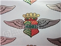 Koni Shock Winged Water Transfer Decal
