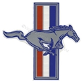 "RH RUNNING HORSE EMBLEM DECAL 7""  DZ-256"