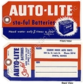AUTOLITE BATTERY TAG